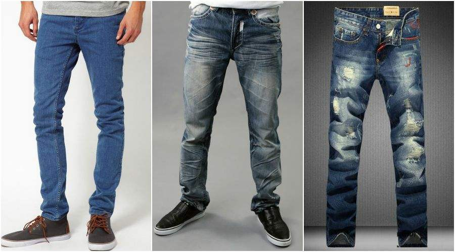 Модные джинсы мужские станут отличным дополнением гардероба