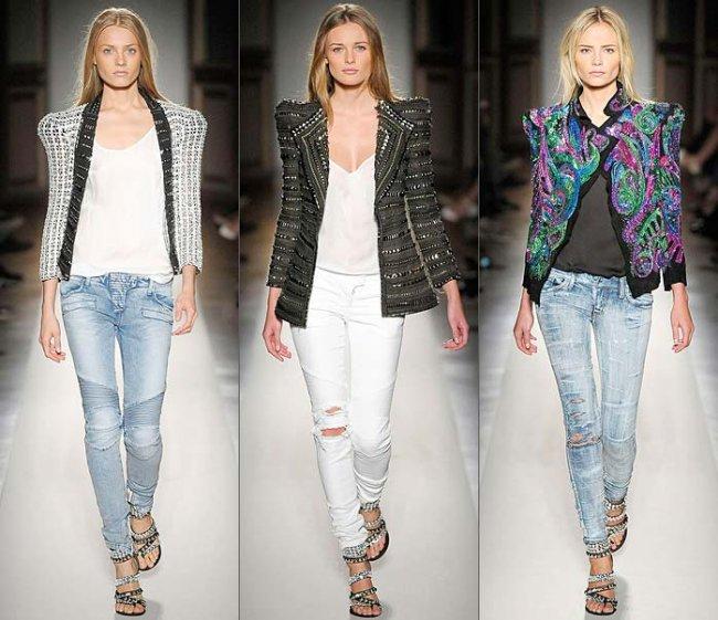 Модные джинсы осень-зима