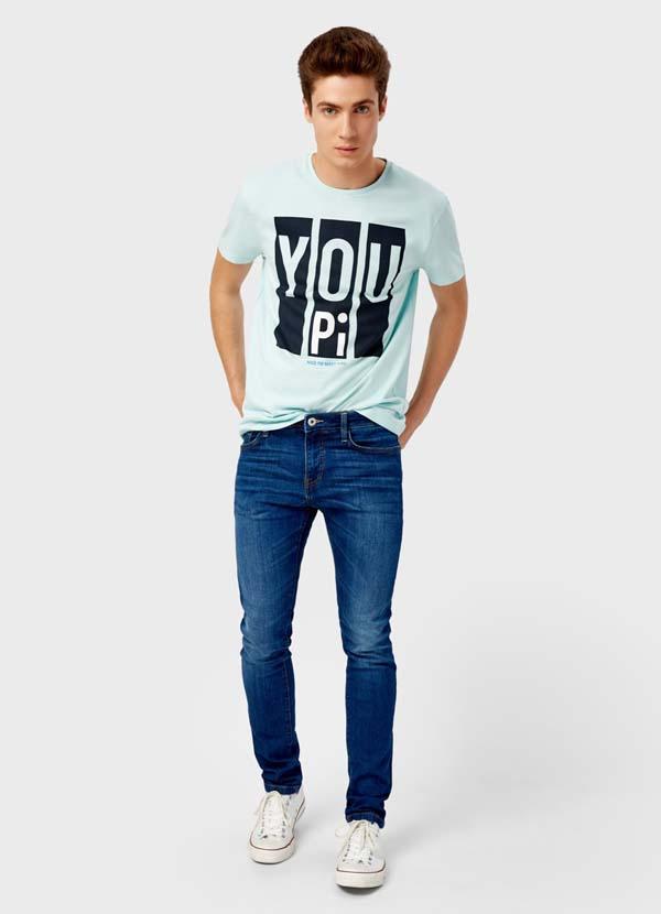 Модные мужские джинсы осень
