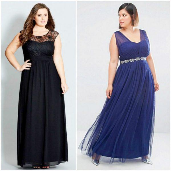 Модные платья 2018 для пышных дам