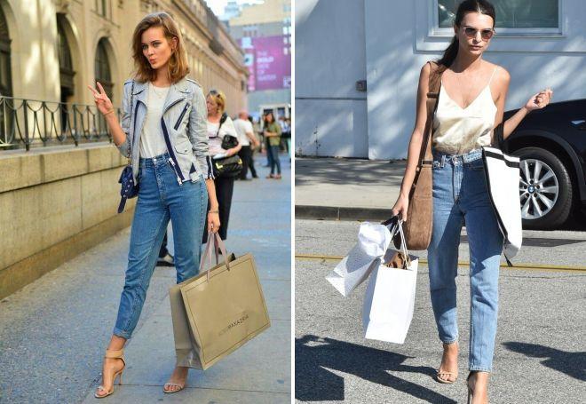 Модные женские летние джинсы