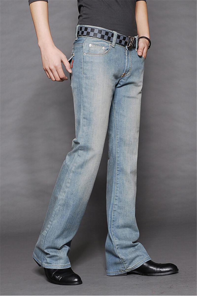 Мужские джинсы клёш