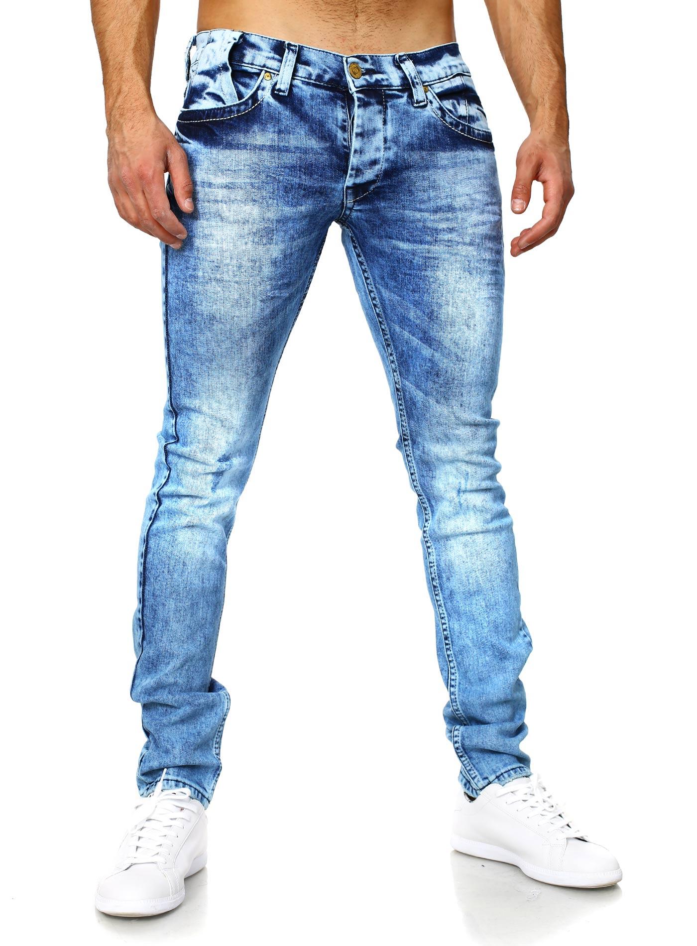 Мужской образ в джинсах