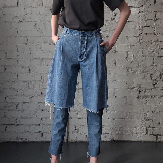 Необычные джинсы Demi-denims