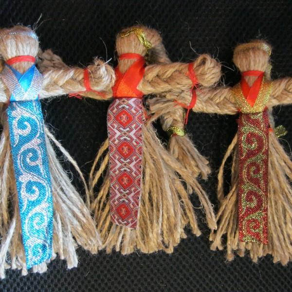 Оберег кукла-мотанка
