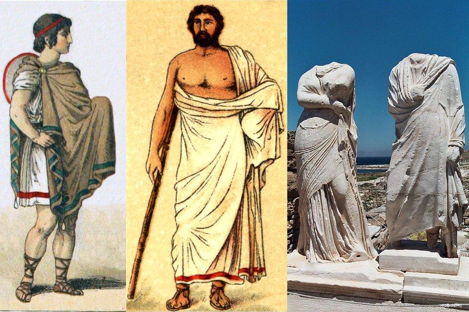 Одежда в Древней Греции для мужчины