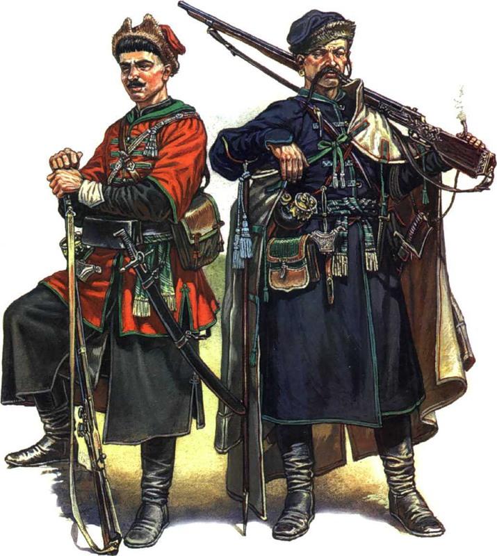 Особенности жизни казаков отразились на их одежде