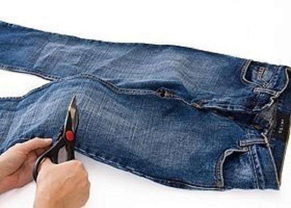 Отрезать штанины
