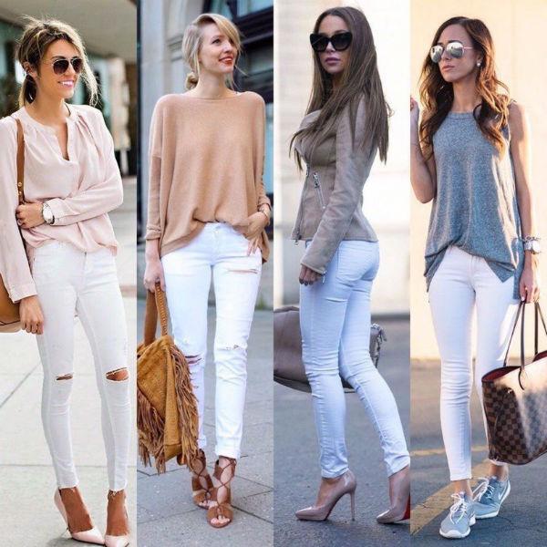 Оттенки джинсов
