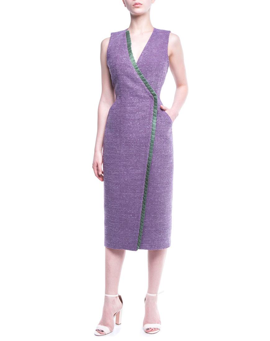 Платье-сарафан из тонкой шерсти