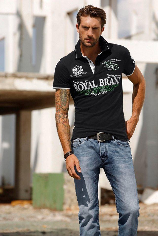 Поло с джинсами