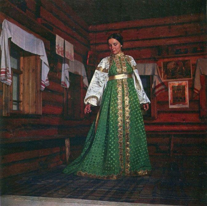 Праздничный костюм уральской казачки
