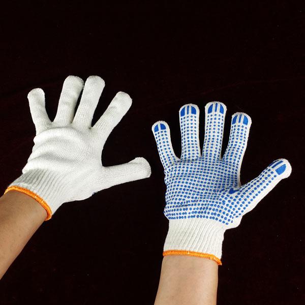 Рабочие перчатки из хлопка без скольжения