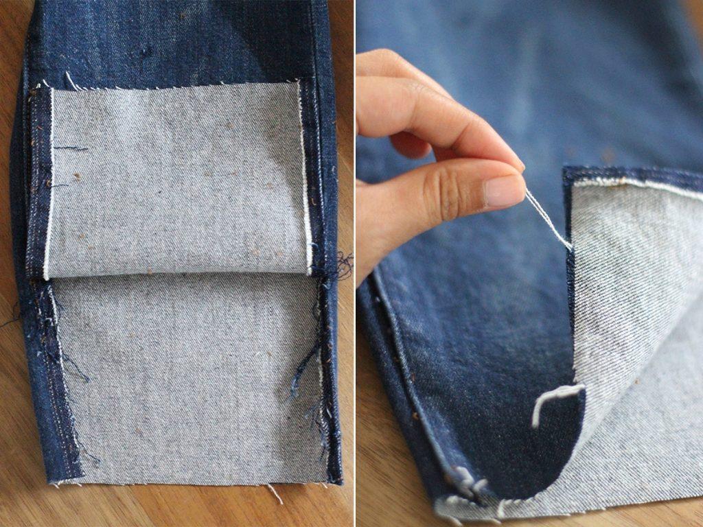 Распарываем штанины