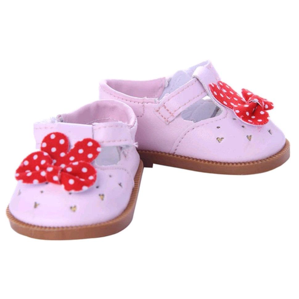 Розовые туфельк