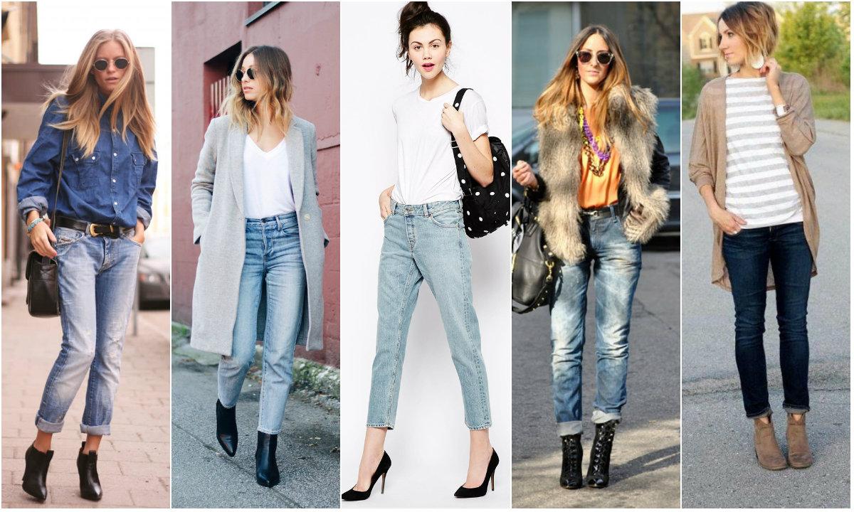 С чем носить джинсы герлфренд