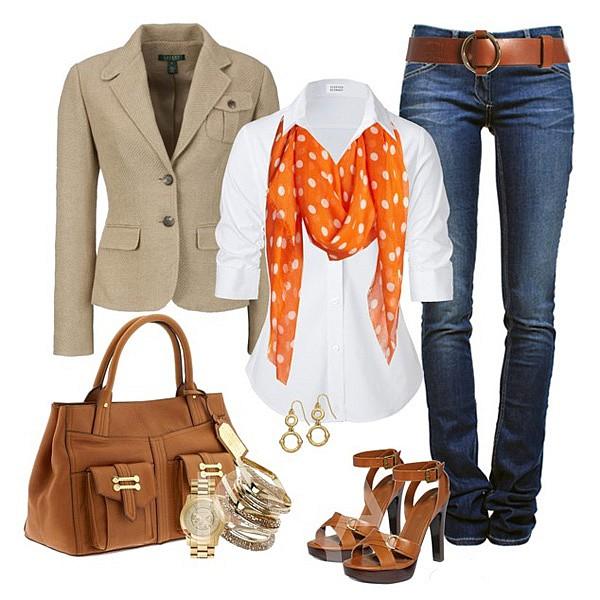 С чем носить женские джинсы