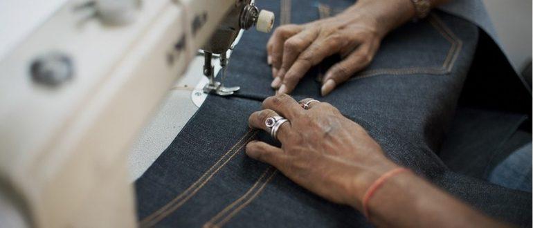 Шьем джинсы