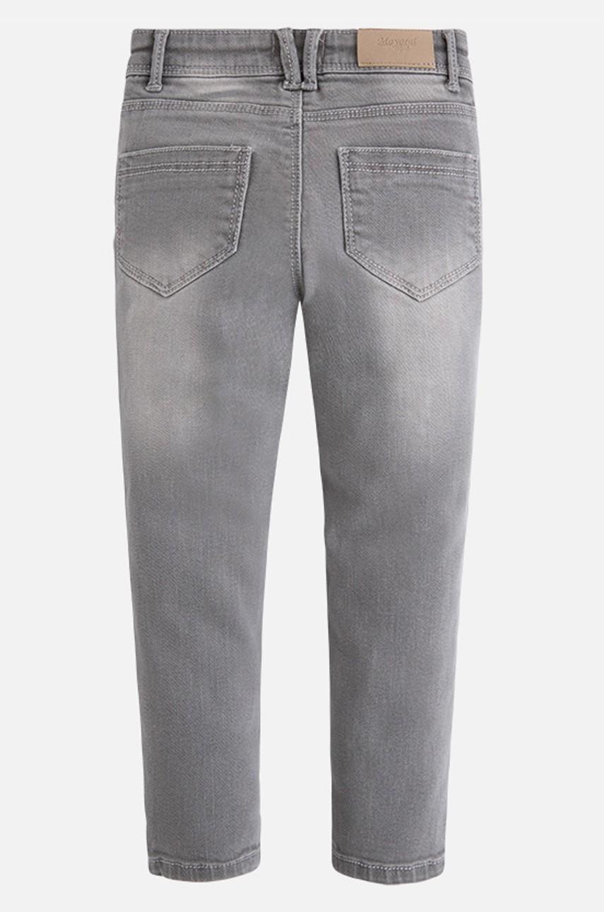 Серые стильные джинсы для девочки