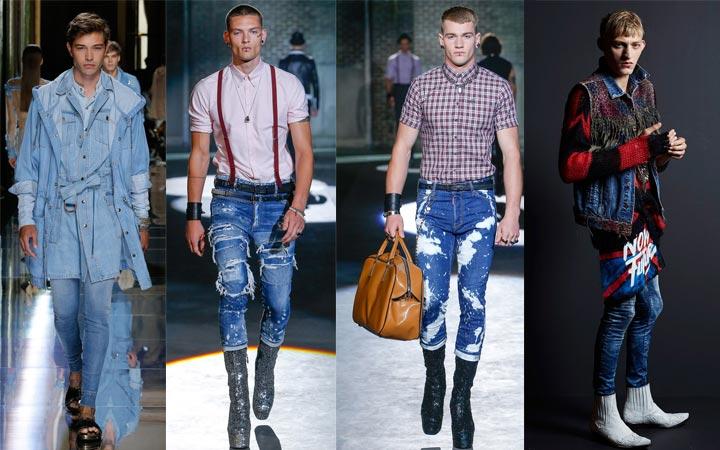 Скинни-джинсы мужские