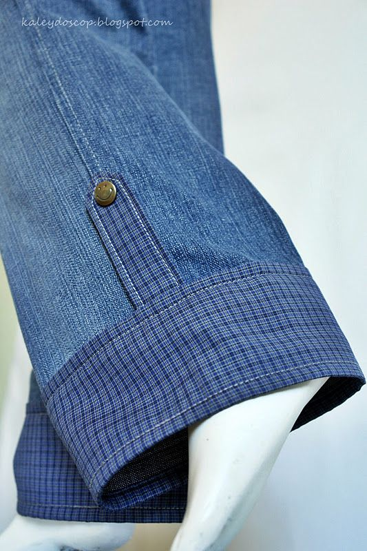 Способ удлинить джинсы