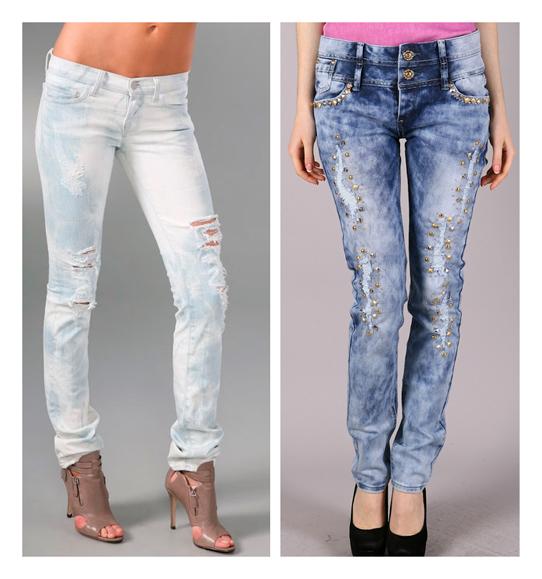 Способы выварить джинсы