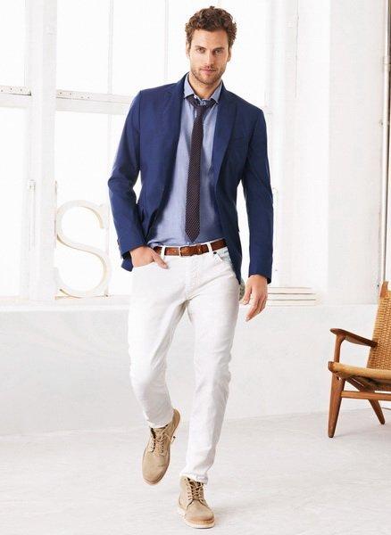 Стильны деловой образ мужчины