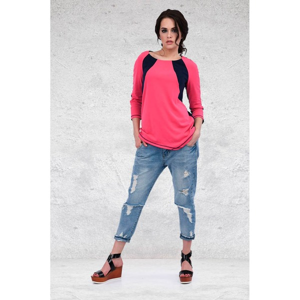 Стильные укороченные джинсы