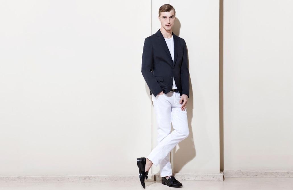 Светлые брюки