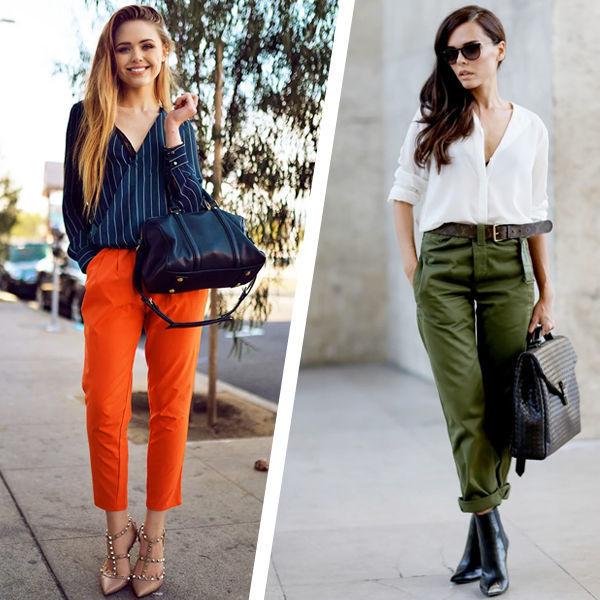 Цветная одежда