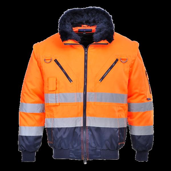 Удобная светоотражающая куртка