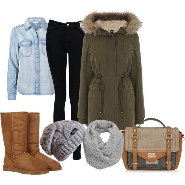 Уютная зимняя одежда