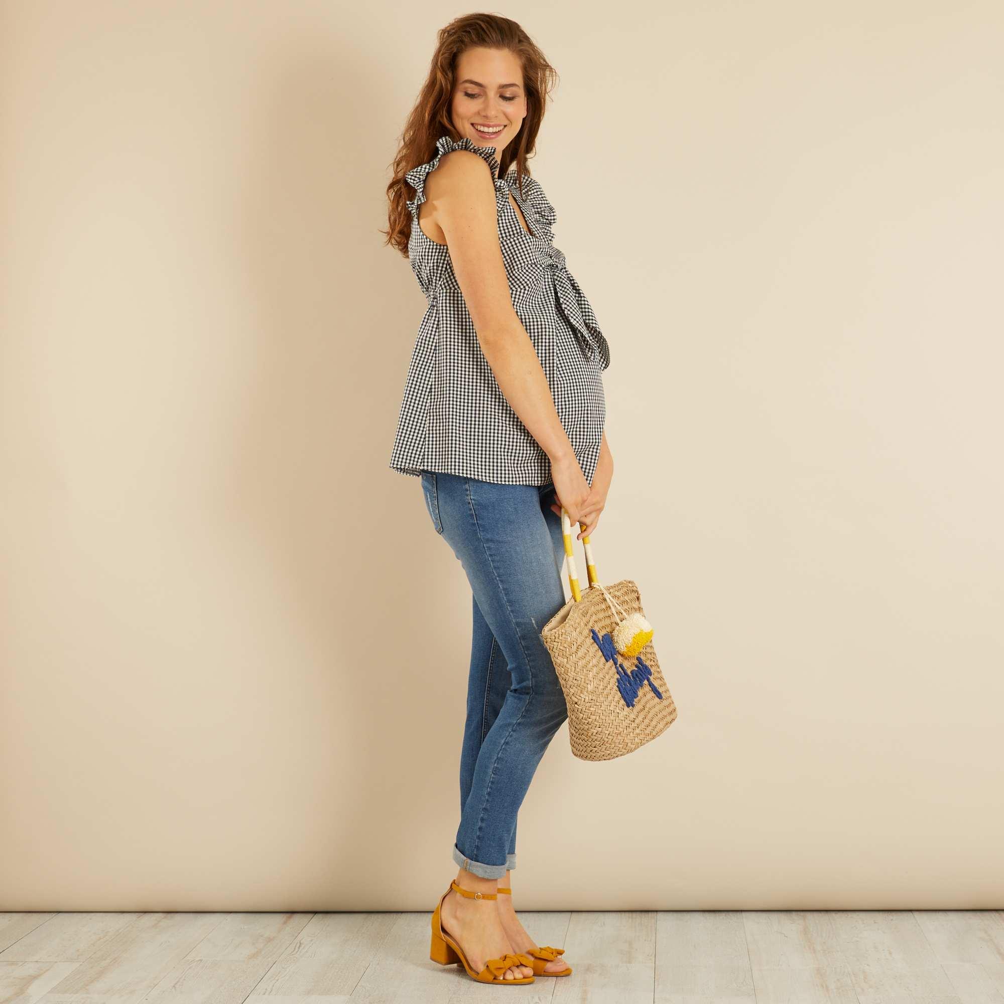 Узкие джинсы для беременных