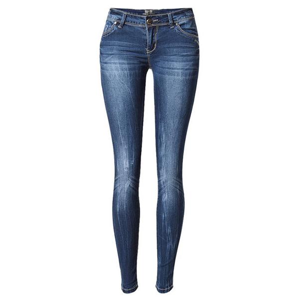 Узкие штаны для худой девушки