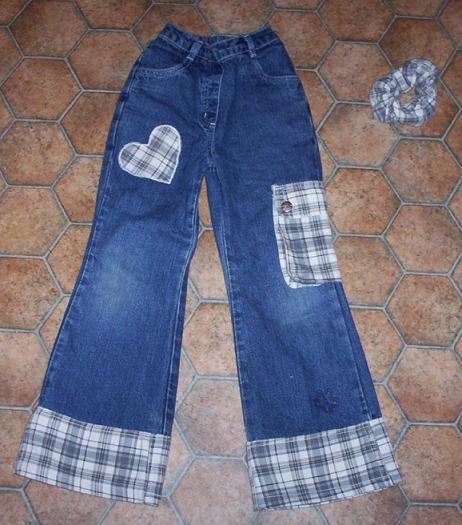 Variant-dekora-1 Класс Как красиво удлинить джинсы в рукодельной энциклопедии Pro100hobbi || Класс Как красиво удлинить джинсы в рукодельной энциклопедии Pro100hobbi