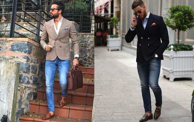 Варианты выбора джинсов для мужчин