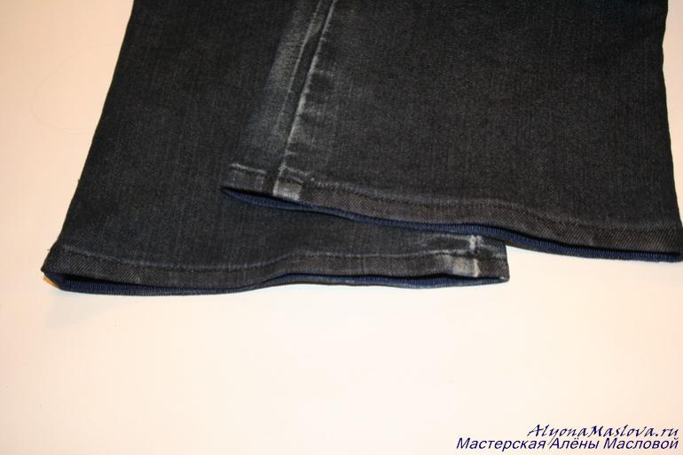 Вид джинсов