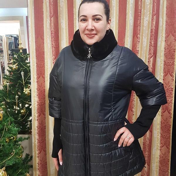 Выбор черной женской куртки