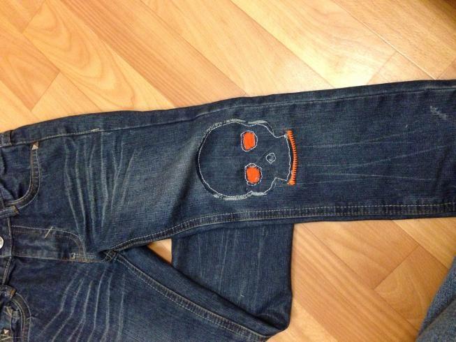 Заплатка на джинсы своими руками