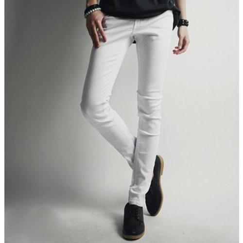 Зауженная модель джинсов