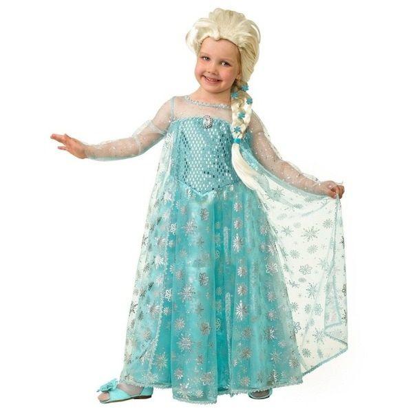 Знаменитый костюм эльзы для девочки