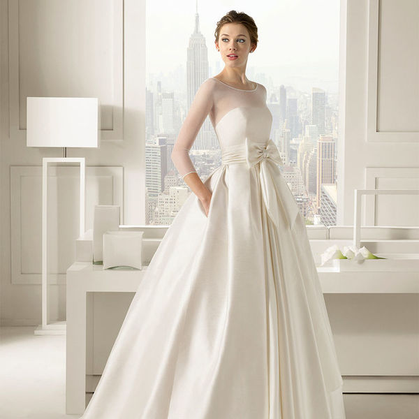 Атлас для платья
