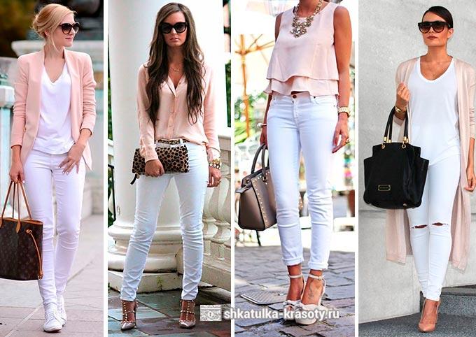 Бело-розовый стиль