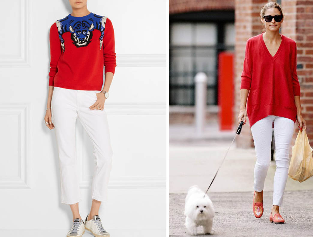 Белое и красное