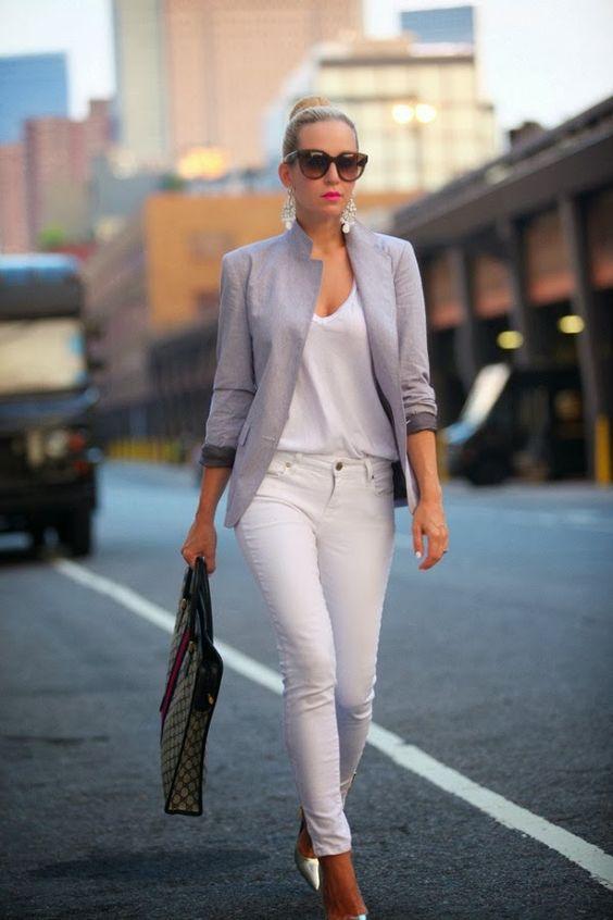 Белые брюки - тренд сезона