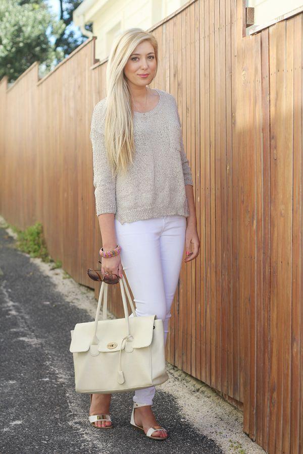 Белые джинсы и другие цвета