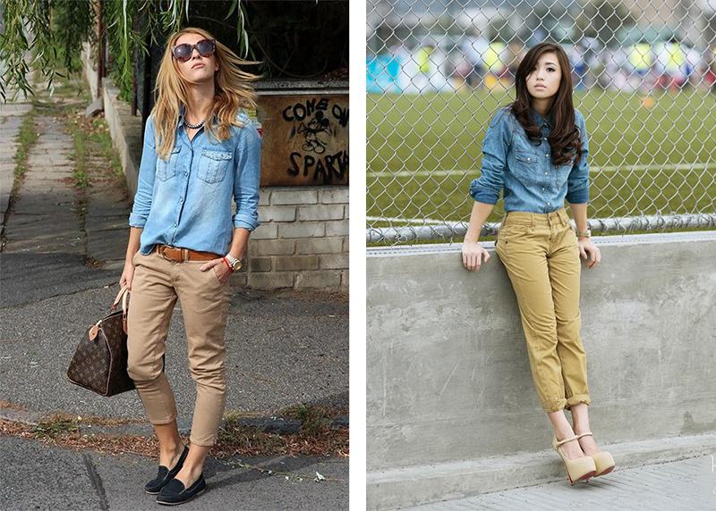 7f61b5f6451 Бежевые джинсы