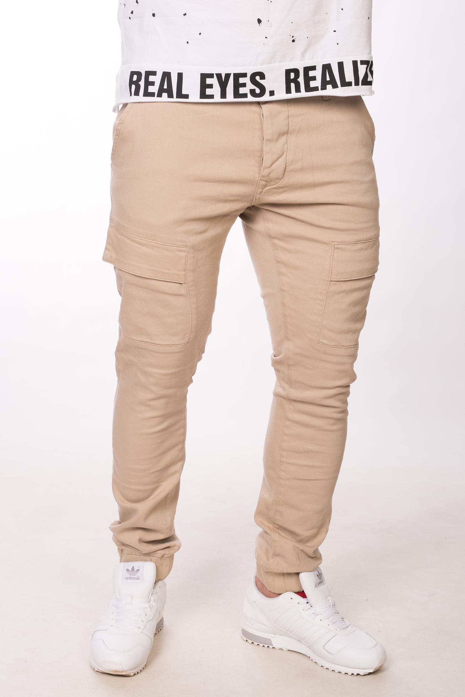 Бежевые штаны