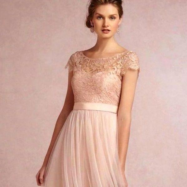 Бледно-розовые наряды