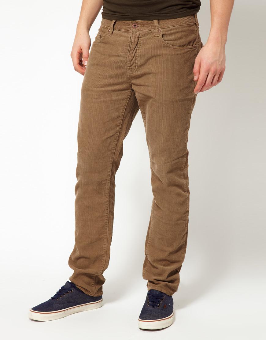 Брендовые вельветовые джинсы